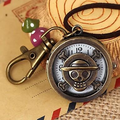 Женские Карманные часы Модные часы Кварцевый сплав Группа Винтаж Бронза
