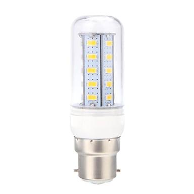 B22 LED Corn Lights 36 leds SMD 5730 Warm White 400lm 3000K AC 220-240V