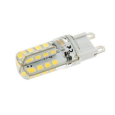 3W 200-250 lm G9 Becuri LED Corn T 32 led-uri SMD 2835 Alb Cald AC 220-240V