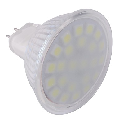 ywxlight® gu5.3 (mr16) led spotlight mr16 24 ledler smd 5050 soğuk beyaz 360lm 6000-6500k ac 220-240v