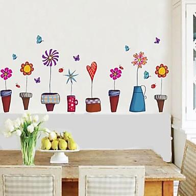 Modă Perete Postituri Autocolante perete plane Autocolante de Perete Decorative, oţel de mangan Vinil Pagina de decorare de perete Decal