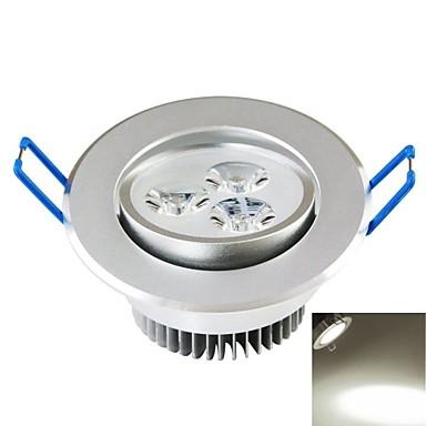 SENCART 300-350lm Plafonieră Spot Încastrat 3PCS LED-uri de margele COB Decorativ Alb Natural 85-265V / CE / FCC