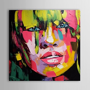 Pittura a olio moderna astratta sexy tele dipinte a mano for Tele astratte dipinte a mano