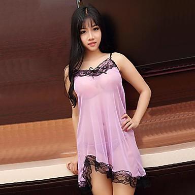 kvinnors sexiga underkläder sexiga nattlinne lila hängslen 2552212 ... 8a110916c15c6