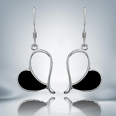 Women's Drop Earrings Silver Plated Jewelry Daily Casual