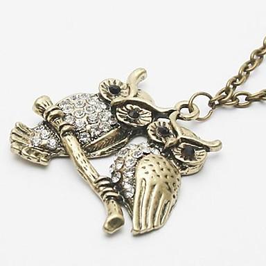 Damen Aleación Anhängerketten - Aleación Modische Halsketten Für