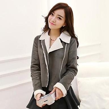 74945b6f kvinners casual semsket jakke (flere farger) 2665923 2019 – $46.52