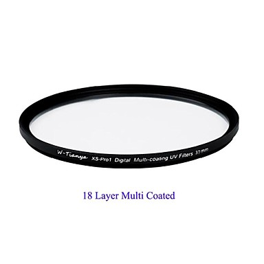 tianya® 37mm mc uv ultravékony xs-Pro1 digitális Muti bevonat UV szűrő sony 1500c Olympus 14-42mm objektívvel