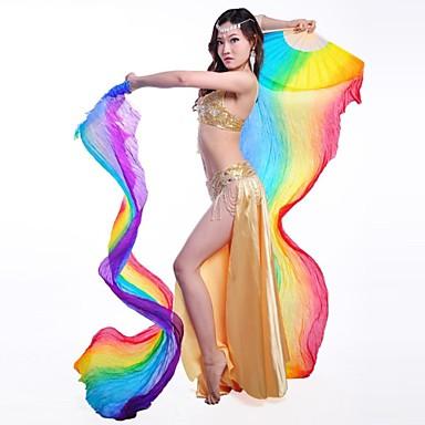 Dansaccessoires Rekwisieten Dames Opleiding Prestatie Zijde
