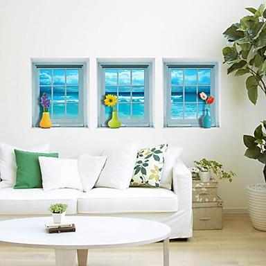 3D Veggklistremerker 3D Mur Klistremerker Dekorative Mur Klistermærker, Vinyl Hjem Dekor Veggoverføringsbilde Vegg
