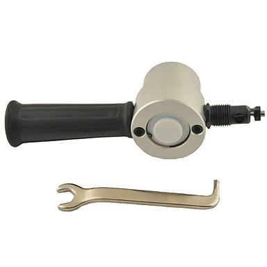διπλής κεφαλής υψηλής ταχύτητας φύλλο χάλυβα κοπής μετάλλων για την εξουσία / ηλεκτρικό τρυπάνι - ασημί + μαύρο
