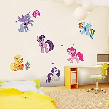 Animals Wall Stickers Plane Wall Stickers Decorative Wall Stickers Material Removable Home Decoration Wall Decal