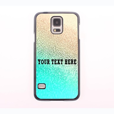 Personalized Phone Case - Rainwater Design Metal Case for Samsung Galaxy S5
