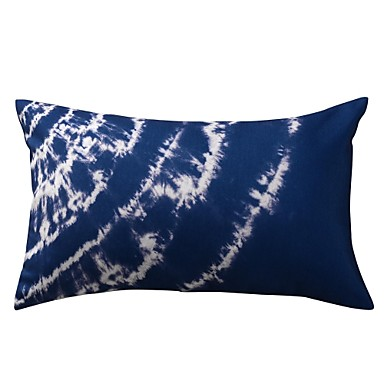 1 pcs Polyester Pillow With Insert Pillow Cover, Ikat Modern/Contemporary