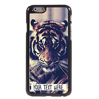 gepersonaliseerde geval tijger ontwerp metalen behuizing voor de iPhone 6 (4.7