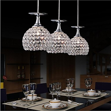Globe Modern/Contemporary LED Pendant Light Downlight For Kitchen Dining Room Study Room/Office Kids Room Game Room Hallway Warm White