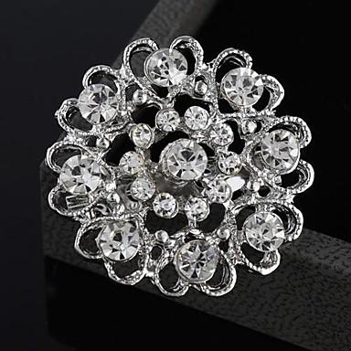 Dames Broches - Strass Hart, Bloem Modieus Broche Voor Bruiloft / Feest / Speciale gelegenheden