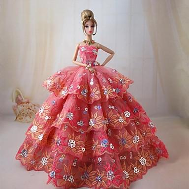 Film/TV témájú kosztümök Ruhák mert Barbie baba Ruhák mert Lány Doll Toy