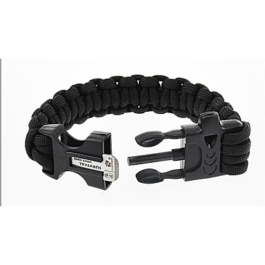 Survival Armband Wandelen Noodgeval / Overleving Nylon