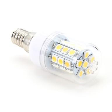 3W 200 lm E14 Becuri LED Corn T 27 led-uri SMD 5050 Alb Cald AC 220-240V