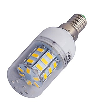 3000-3200/6000-6500 lm E14 LED kukorica izzók T 30 led SMD 5730 Meleg fehér Hideg fehér AC 220-240V