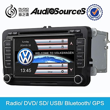 Wince 6.0 7inch 2 Din Car dvd player Purchase for jetta with SWC IPAS 3G 1.2G CPU Gps map HD 1080P RDS