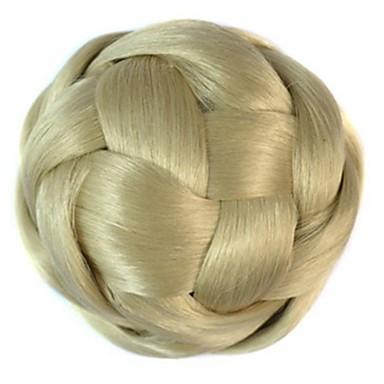 bağbozumu bobin topuz peruk (bej)
