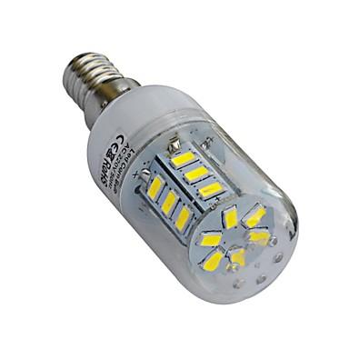 320-360lm lm E14 LED Mais-Birnen T 24 Leds SMD 5730 Warmes Weiß Kühles Weiß Wechselstrom 220-240V