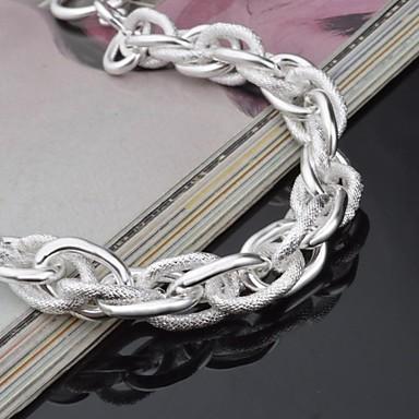 Γυναικεία Κοσμήματα Βραχιόλι Ασημί Κοσμήματα Γενέθλια Αρραβώνας