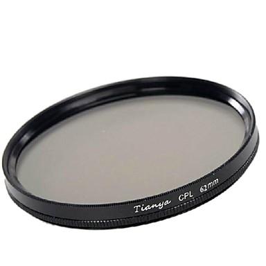 TIANYA 62mm CPL Circular Polarizer Filter for Pentax 18-135 18-250 Tamron 18-200mm Lens