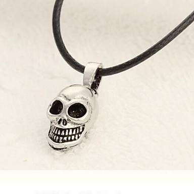 Men's Skull Shape Personalized European Pendant Necklace Titanium Steel Alloy Pendant Necklace Daily Casual Sports