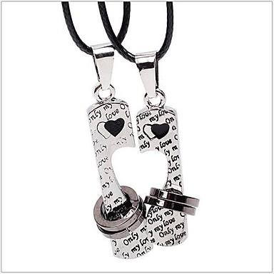 Муж. Жен. форма Любовь Ожерелья-бархатки Ожерелья с подвесками Сплав Ожерелья-бархатки Ожерелья с подвесками Для вечеринок