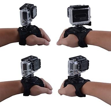 Handschlaufen Träger Halterung 360° Drehbar Zum Action Kamera Alles Gopro 5 Gopro 4 Gopro 3 Gopro 3+ Gopro 2 ABS Nylon