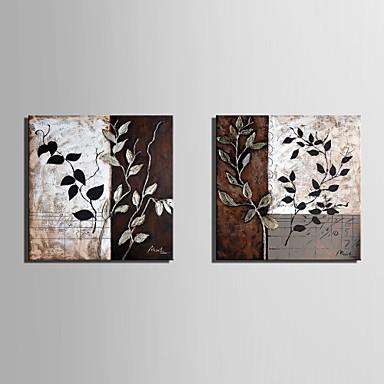 е-Home® растягивается холсте лист шаблон декоративной живописи набор из 2