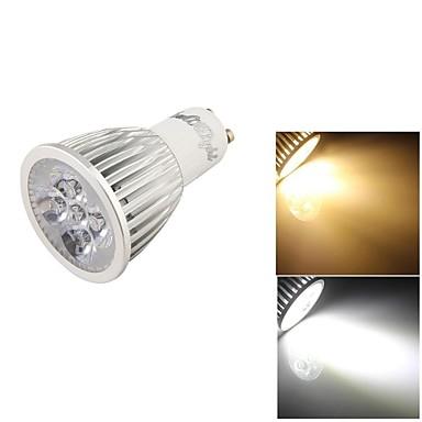 GU10 LED szpotlámpák 5 led Nagyteljesítményű LED Dekoratív Meleg fehér Hideg fehér 500lm 3000/6000K AC 85-265V