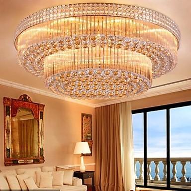 #474474 TradicionalClássico ModernoContemporâneo Cristal LED Lustres Luz Ambiente Para Sala de Estar  384x384 píxeis em Ambiente Moderno Descolado Sala Estar Jantar