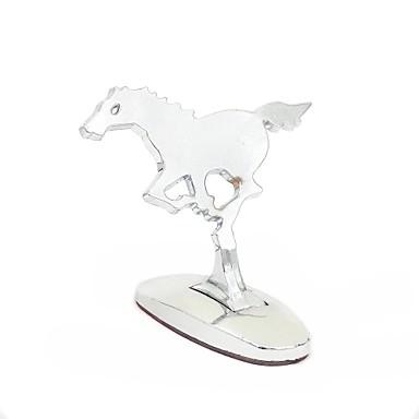 uniwersalna 3d prowadzenie konia aluminiowe logo trójwymiarowe naklejki samochodowe zewnętrzne dekoracji godło