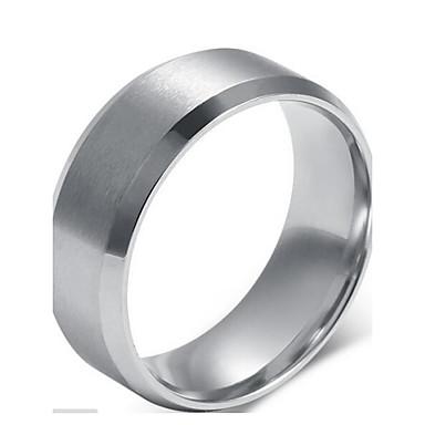 Erkek Bildiri Yüzüğü - Som Gümüş Moda 7 / 8 / 9 Uyumluluk Yılbaşı Hediyeleri / Düğün / Parti