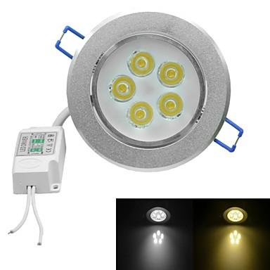 5 High Power LED 450-500lm Warm White Cold White 3000-3200K/6000-6500K AC 100-240V