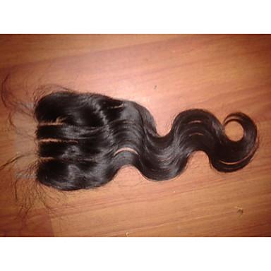 hesapli Kapatma & Ön Taraf-- Kahverengi - Ek saç - Kadın -İçin Vücut Dalgası