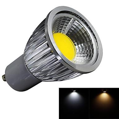 5W GU10 LED Spot Işıkları 1 COB 450lm lm Sıcak Beyaz / Serin Beyaz AC 100-240 V