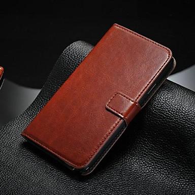 Için Samsung Galaxy Note Kart Tutucu / Satandlı / Flip Pouzdro Tam Kaplama Pouzdro Solid Renkli PU Deri Samsung Note 5 / Note 4 / Note 3