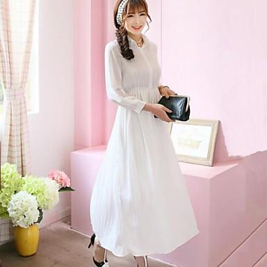59dd580395 női gyönyörű polo divatos hosszú ujjú szeres maxi ruha 2927696 2019 ...