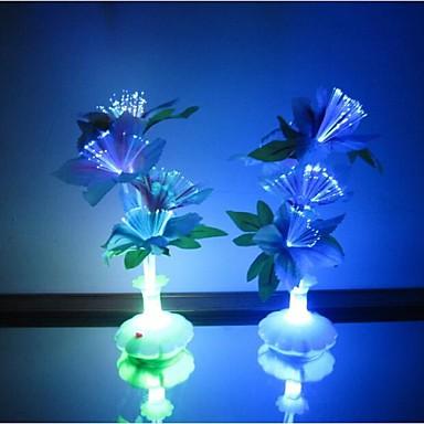 LED-Nachtlicht Wasserfest Batterie Acryl 1 Lampe Keine Batterien enthalten 11.0*11.0*29.0cm