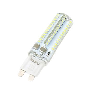 7W 550-650 lm G9 LED-maïslampen T 104 leds SMD 3014 Warm wit Koel wit AC 220-240V