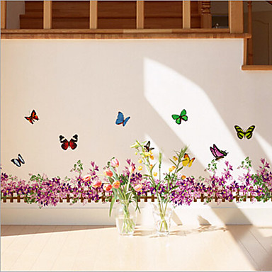 Hayvanlar Botanik Sözler ve Alıntılar Romantizm Natürmort Moda Çiçekler Manzara Duvar Etiketler Uçak Duvar ÇıkartmalarıDekoratif Duvar