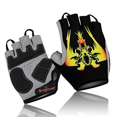 WEST BIKING® Sports Gloves Bike Gloves / Cycling Gloves 3D Pad / Quick Dry / Wearable Fingerless Gloves Lycra / Terylene / Cotton Camping