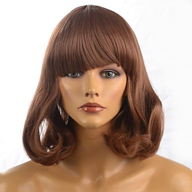 Women Synthetic Wig Natural Wave #12 Costume Wig