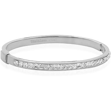 Жен. - Мода/Круглые браслеты - Браслеты (Нержавеющая сталь/Сплав металлов)