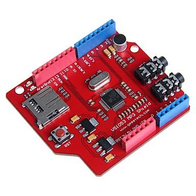 arduino için tf kartı ile geeetech vs1053 mp3 kalkan kurulu
